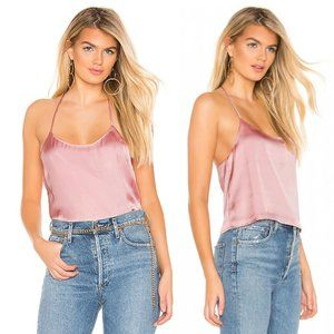 Privacy Please Dusty Pink Strappy Verbena Top
